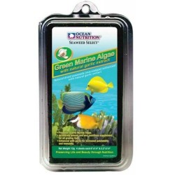 Ocean nutrition, alga verde...